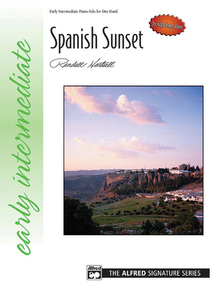 Spanish Sunset (for right hand alone)