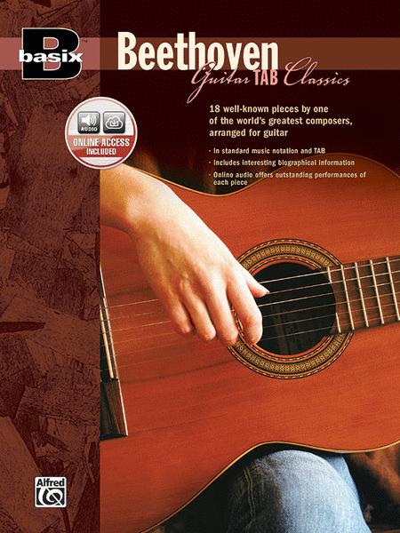 Basix Guitar TAB Classics -- Beethoven