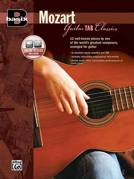 Basix Guitar TAB Classics -- Mozart