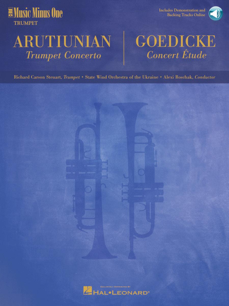 ARUTIUNIAN Concerto for Trumpet/Cornet & Concert Band /  GOEDICKE Concert Etude