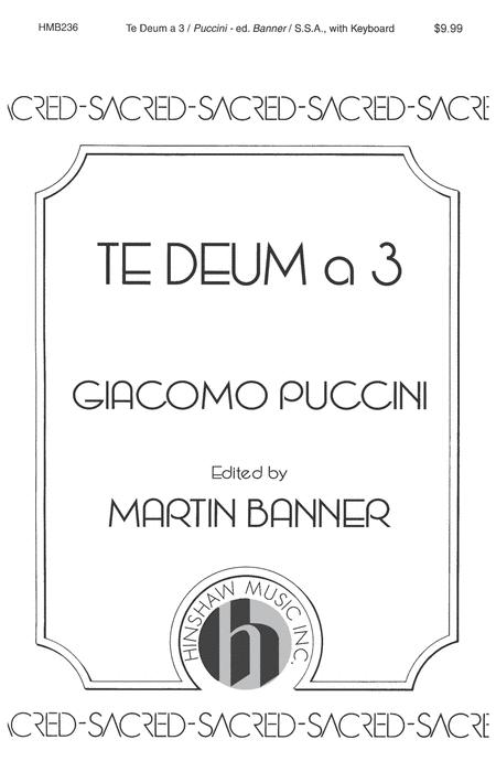 Te Deum A 3
