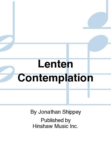 Lenten Contemplation