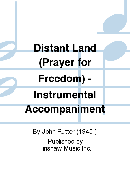 Distant Land (Prayer for Freedom) - Instrumental Accompaniment