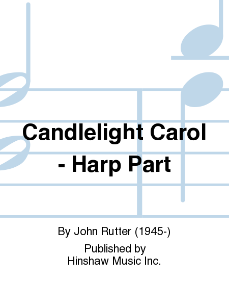 Candlelight Carol - Harp Part