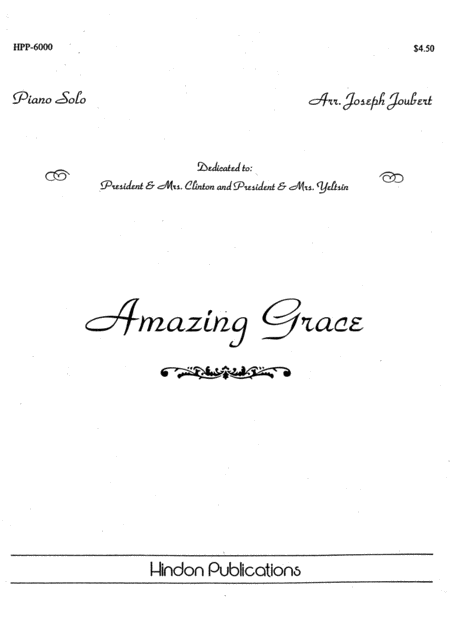 Amazing Grace-piano Solo