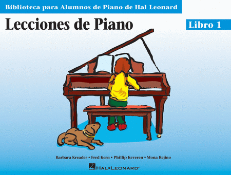 Piano Lessons Book 1 - Spanish Edition