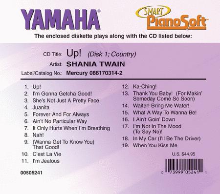 Shania Twain - Up! (2-Disk Set) - Piano Software