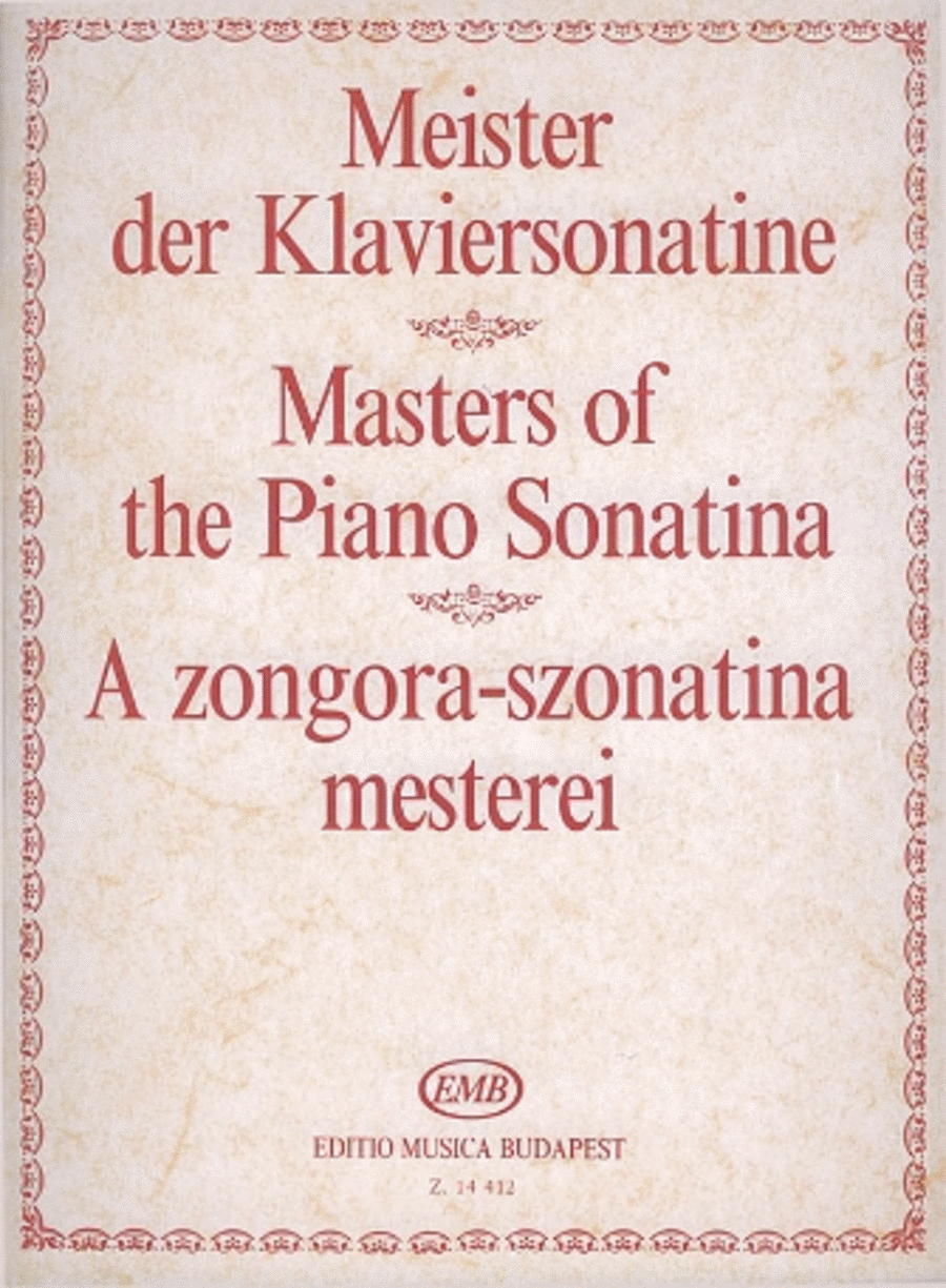 Masters of the Piano Sonatina