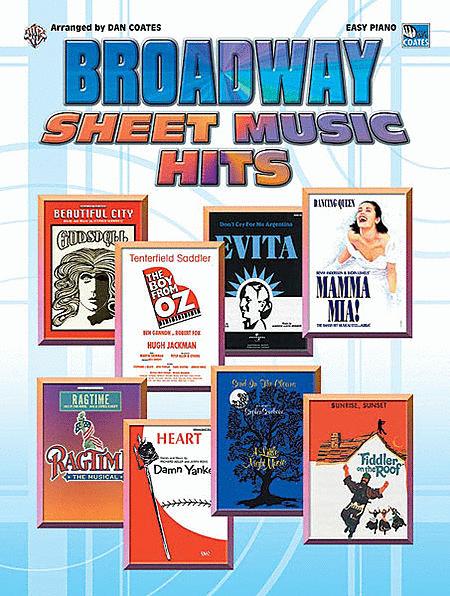 Broadway Sheet Music Hits