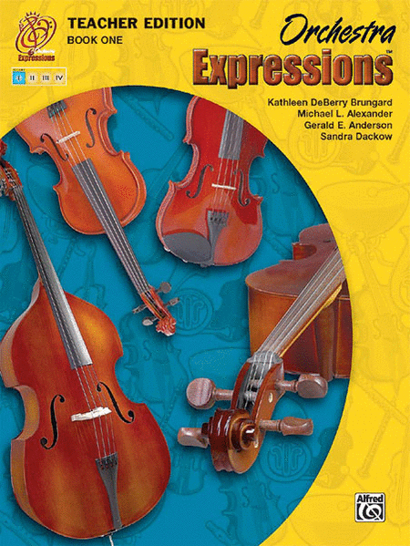 Orchestra Expressions, Book One Teacher Edition
