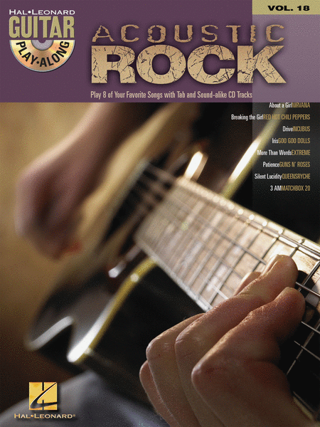 Hal Leonard Guitar Play-Along: Acoustic Rock