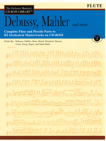 Debussy, Mahler and More - Volume II (Flute)