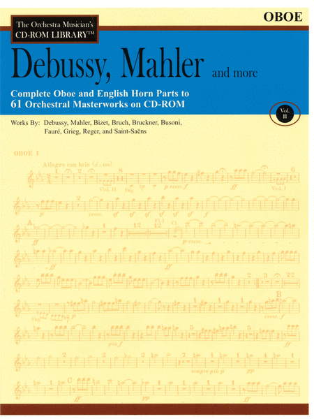 Debussy, Mahler and More - Volume II (Oboe)