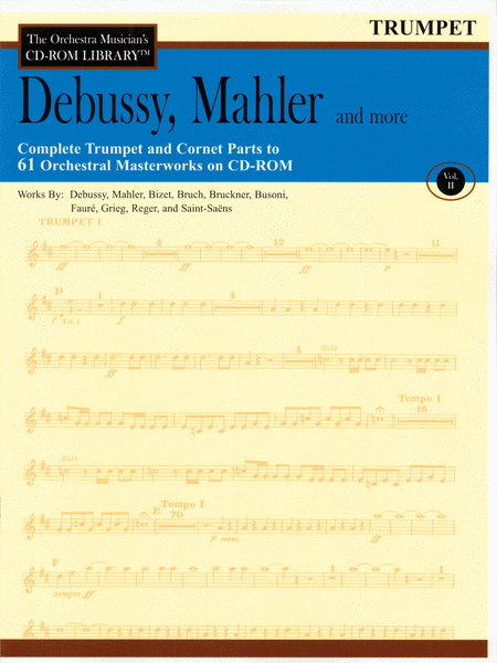Debussy, Mahler and More - Volume II (Trumpet)