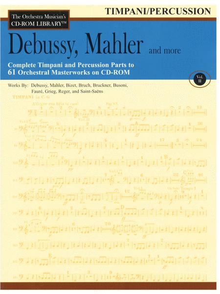 Debussy, Mahler and More - Volume II (Timpani/Percussion)