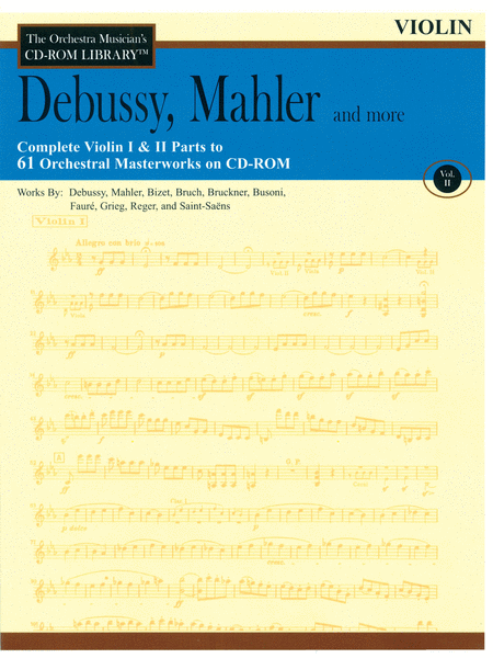 Debussy, Mahler and More - Volume II (Violin)