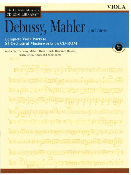 Debussy, Mahler and More - Volume II (Viola)