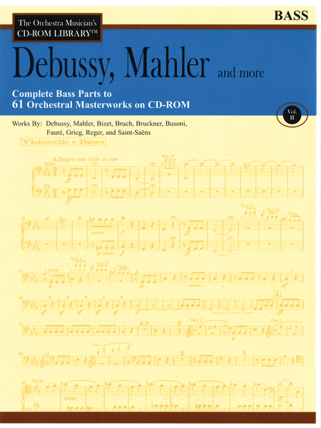 Debussy, Mahler and More - Volume II (Bass)