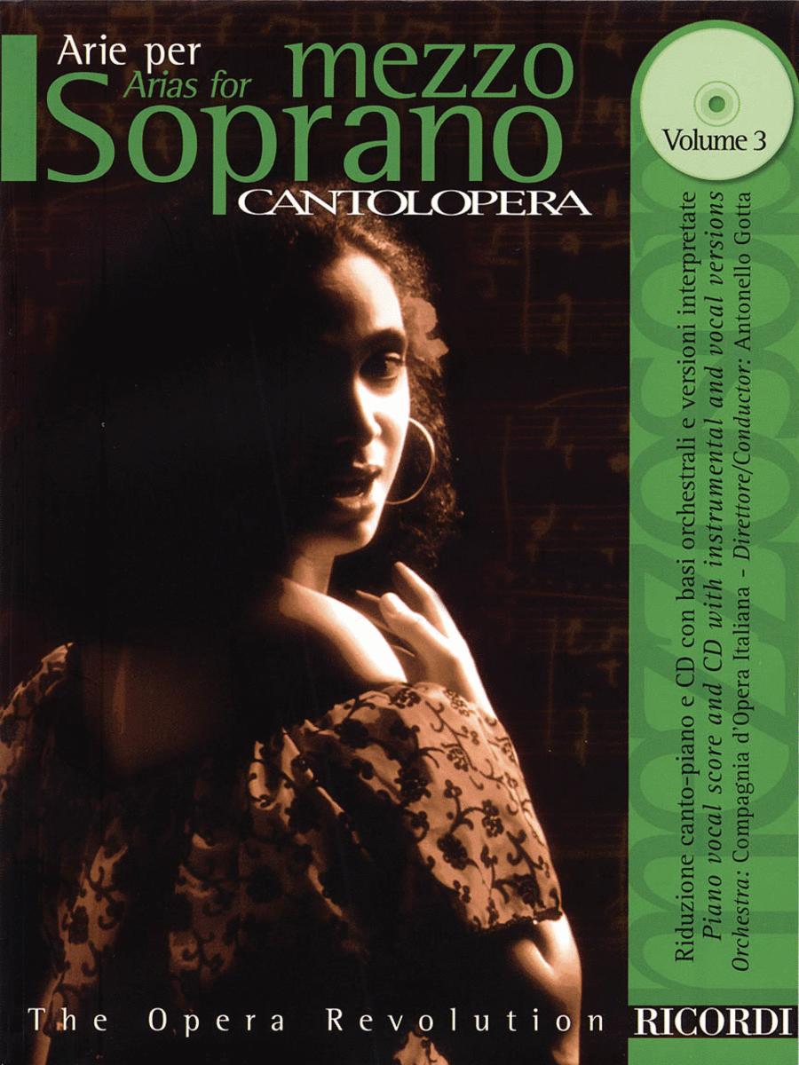 Arias for Mezzo-Soprano - Volume 3