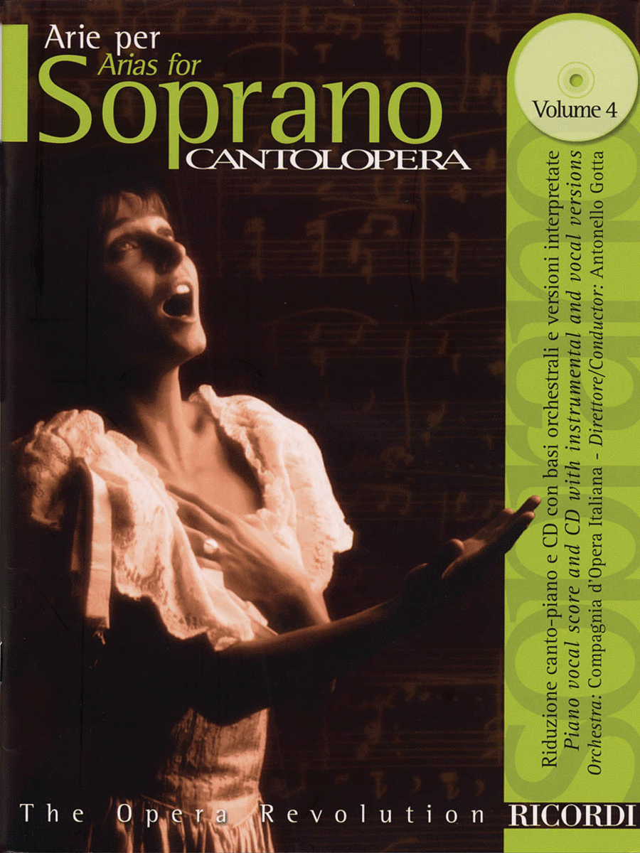 Cantolopera: Arias for Soprano - Volume 4