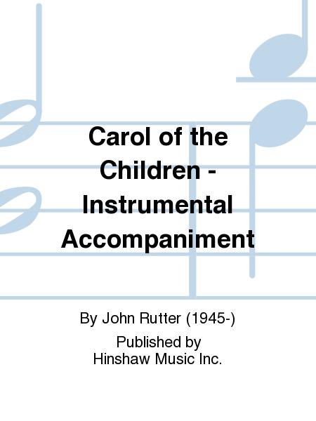 Carol of the Children - Instrumental Accompaniment