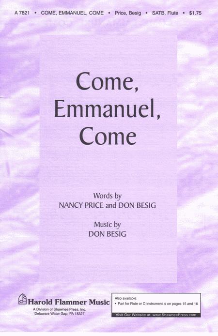 Come, Emmanuel, Come