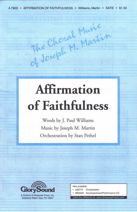 Affirmation of Faithfulness