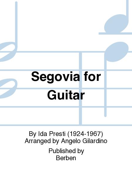 Segovia for Guitar