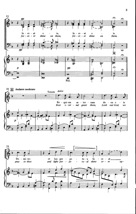 Introit and Kyrie (Faure Requiem)