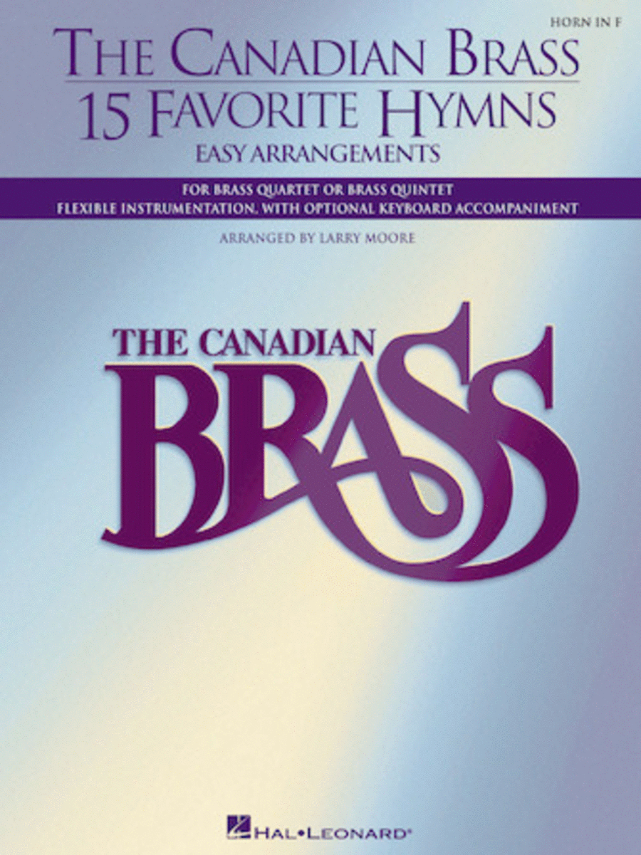 The Canadian Brass - 15 Favorite Hymns - Horn in F