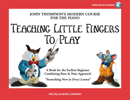 Teaching Little Fingers to Play - Book/Audio