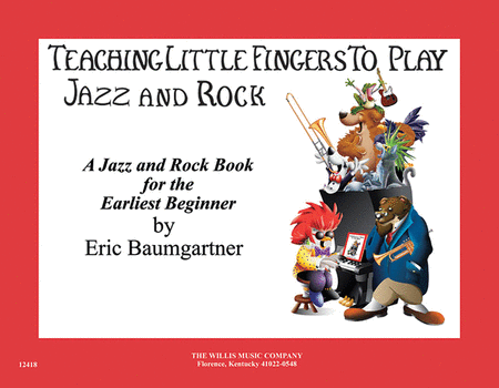 Teaching Little Fingers to Play Jazz and Rock - Book only