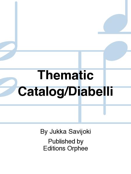 Thematic Catalog/Diabelli