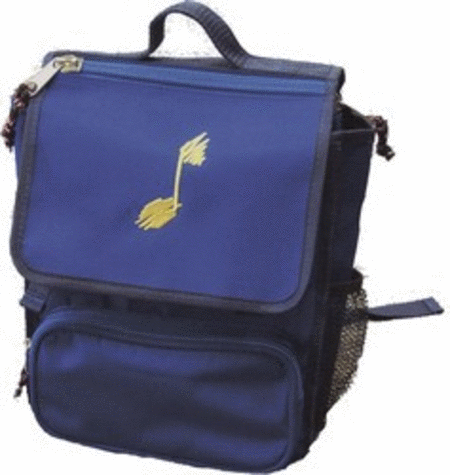 Backpack - Blue with Yellow Note (Small)