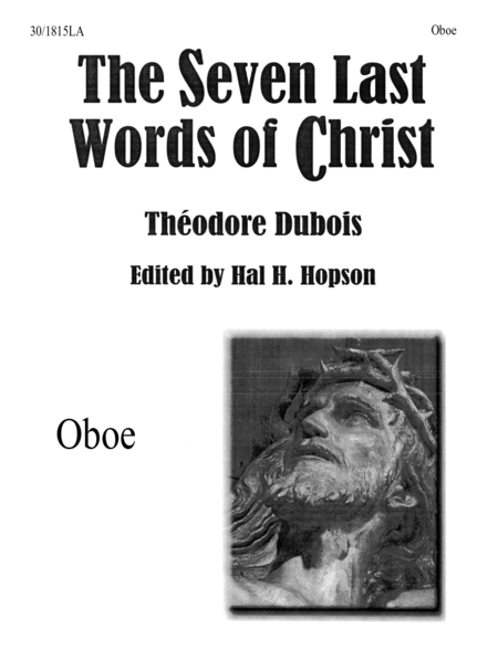 The Seven Last Words of Christ - Oboe