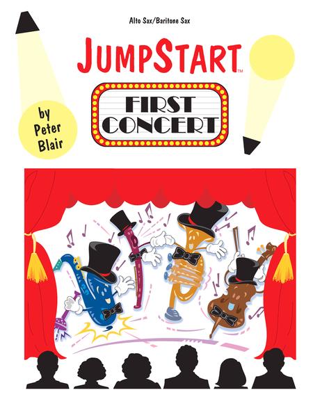 JumpStart First Concert Alto Sax/Baritone Sax
