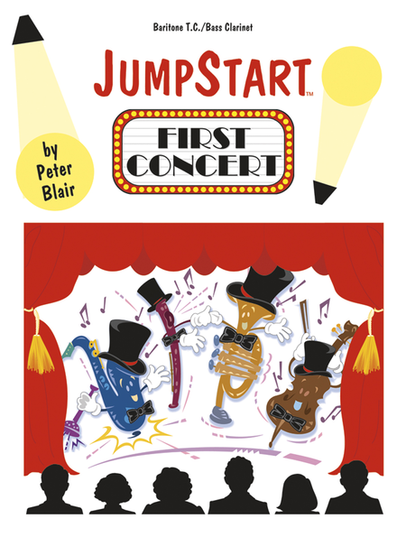 JumpStart First Concert Bari TC/Bass Clarinet