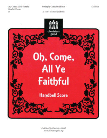 Oh, Come, All Ye Faithful - Handbell Score