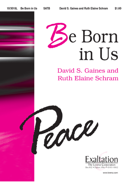Be Born in Us