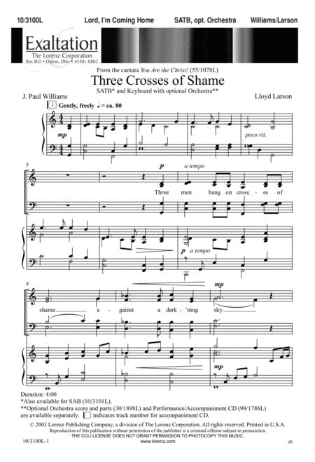Three Crosses of Shame