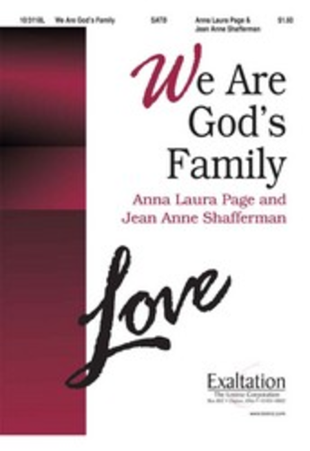 We Are God's Family