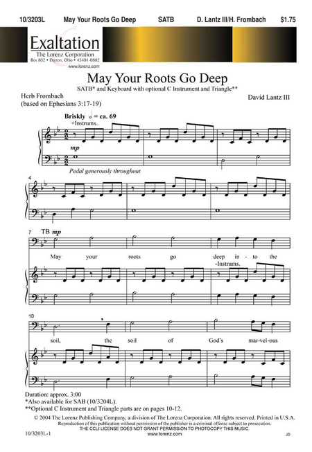 May Your Roots Go Deep