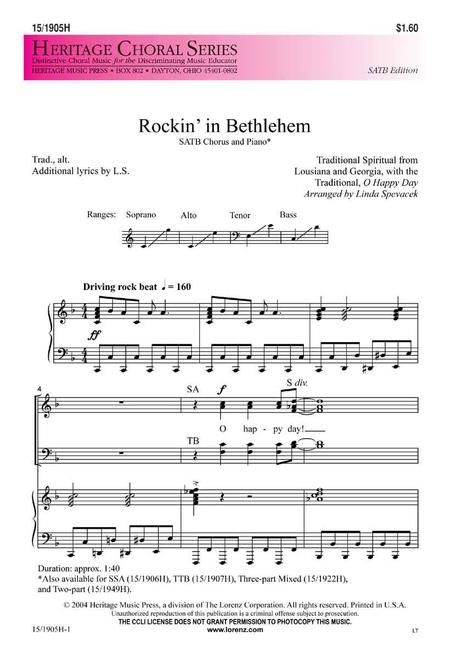Rockin' in Bethlehem