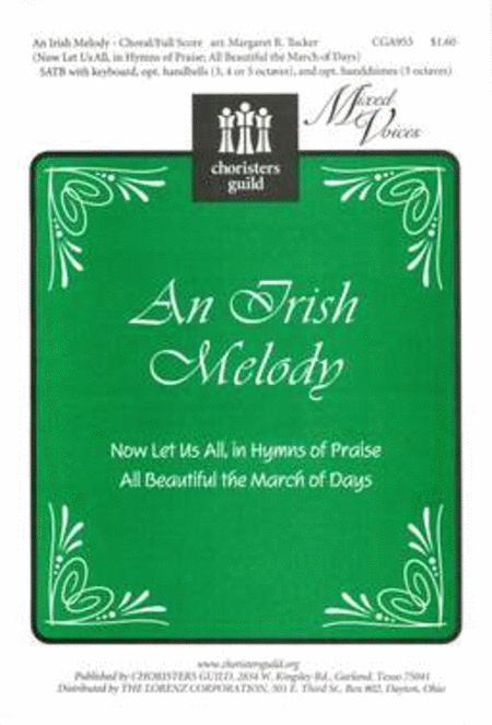 An Irish Melody - Choral/Full Score