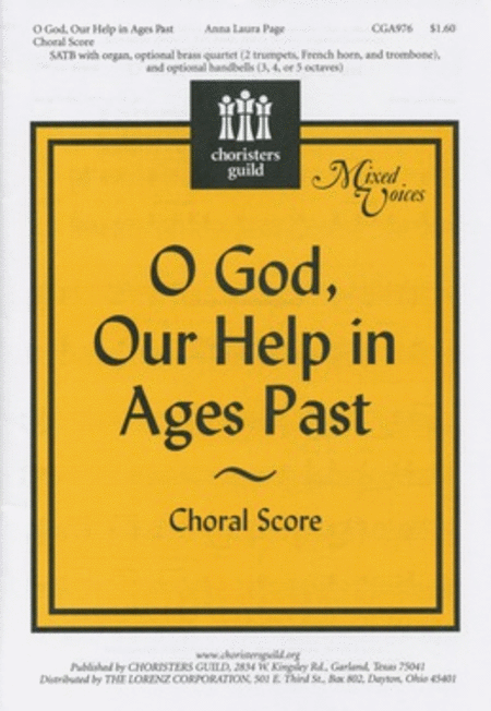O God, Our Help in Ages Past - Choral Score