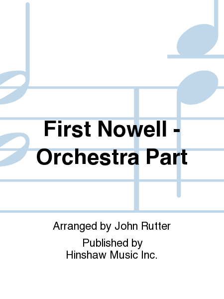 First Nowell - Orchestra Part