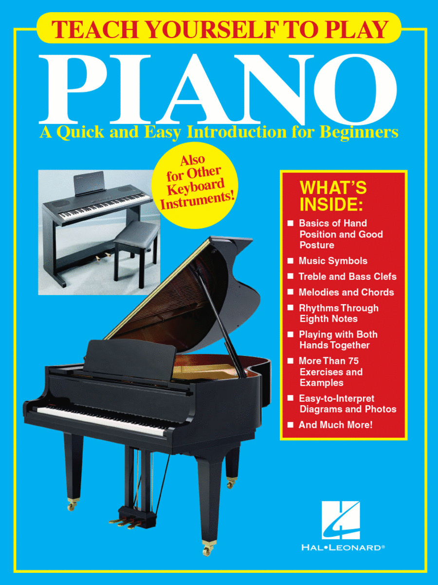Teach Yourself To Play Piano Sheet Music By Various