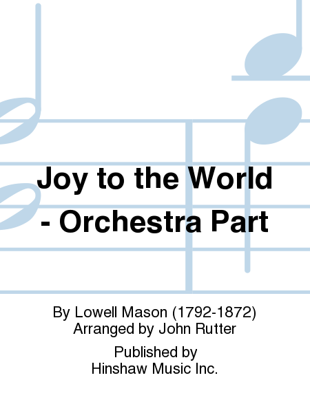 Joy to the World - Orchestra Part