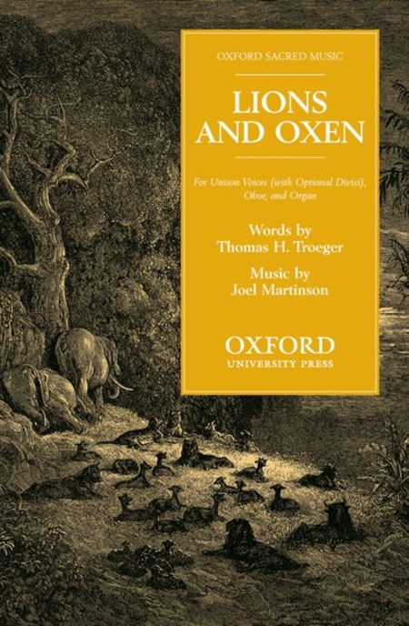 Lions and oxen