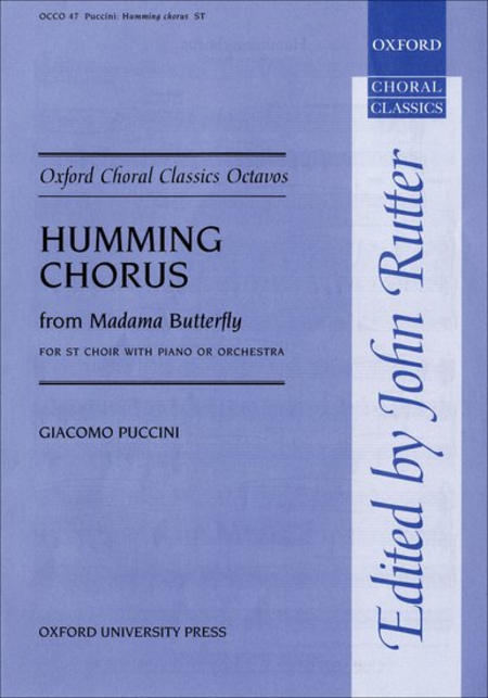 Humming Chorus from Madama Butterfly
